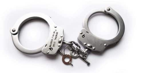 Steel Handcuffs with 2 keys