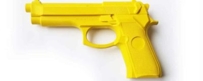 1:1 rubber pistol for tactical training. Same dimension as Beretta 92 series
